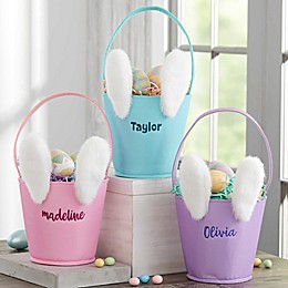 Mod Bunny Personalized Easter Basket