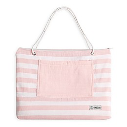 Sand Cloud Convertible Beach Towel Tote in Rose Cloud