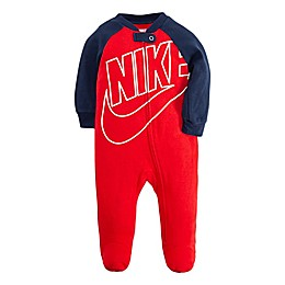 Nike® Futura Footie in Red/Navy