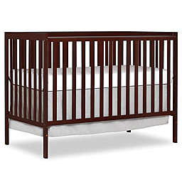 Dream On Me Synergy 5-in-1 Convertible Crib in Espresso