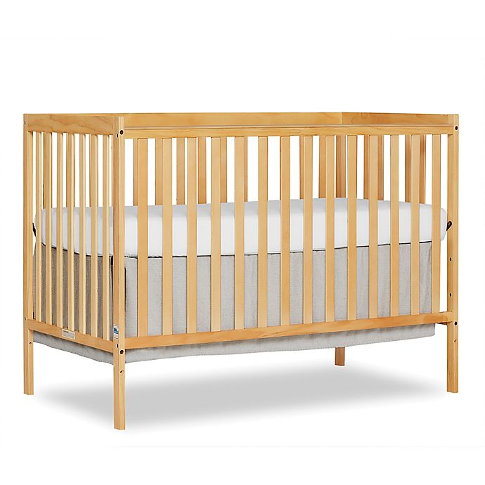 Alternate image 1 for Dream On Me Synergy 5-in-1 Synergy Convertible Crib in Natural