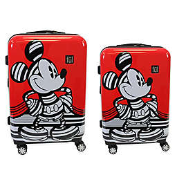 ful® Disney® Striped Mickey Mouse Hardside Checked Luggage