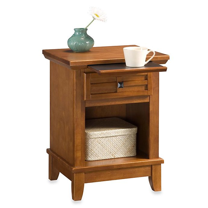 Alternate image 1 for Home Styles Arts & Crafts Nightstand in Oak