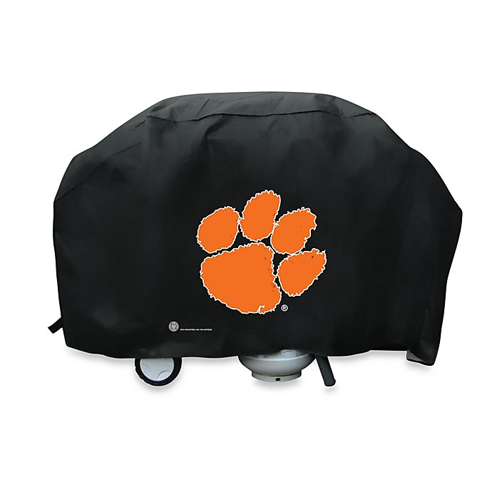 Alternate image 1 for NCAA Clemson University Deluxe Barbecue Grill Cover