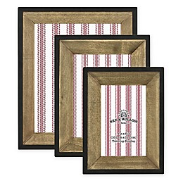 Bee & Willow™ Home Wooden Picture Frame in Wood/Black