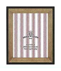 Bee & Willow™ Home Portarretratos de madera de 31.11 x 26.03 cm en madera/negro