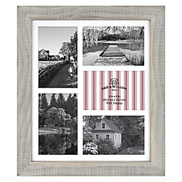 Bee & Willow™ Home Austin 5-Photo Collage Frame in Grey