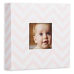 Pearhead® Chevron Baby Photo Album in Pink