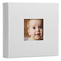 Pearhead® Baby Photo Album in Grey