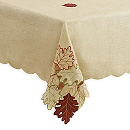Autumn Bliss Cutwork Table Linen Collection