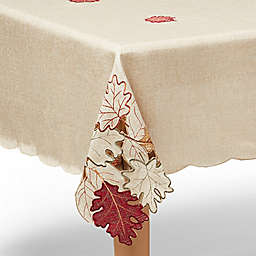 Autumn Bliss Cutwork Tablecloth