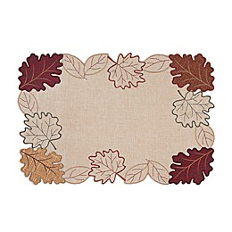 Autumn Bliss Cutwork Placemat