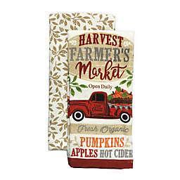 Harvest Truck Kitchen Towels (Set of 2)