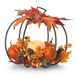 Elements LED Pumpkin Centerpiece