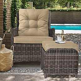 Relax-A-Lounger™ Sunny Recliner and Ottoman Set