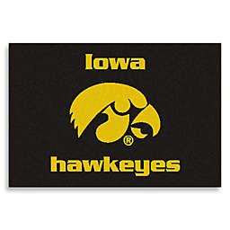 """University of Iowa 19"""" x 30"""" Starter Mat"""