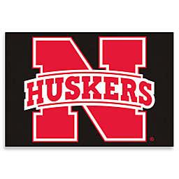 """University of Nebraska 19"""" x 30"""" Starter Mat"""