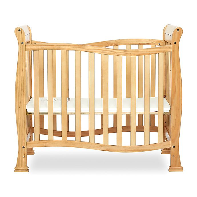 Alternate image 1 for Dream On Me Piper 4-In-1 Convertible Mini Crib