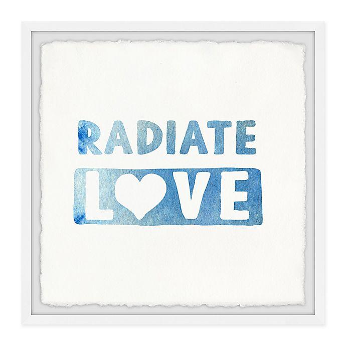 Alternate image 1 for Marmont Hill Radiate Love Framed Wall Art