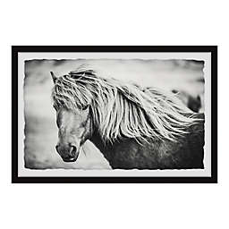 Marmont Hill Beautiful Mane Framed Wall Art