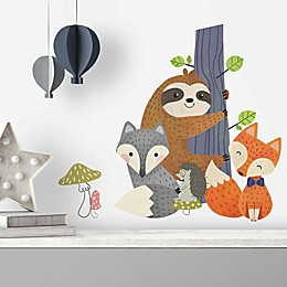 RoomMates® Forest Friends 23-Count Peel and Stick Giant Wall Decals
