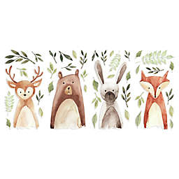 RoomMates® Watercolor Woodland Critters Peel and Stick Wall Decals