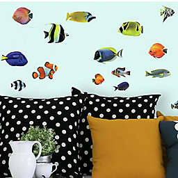 Roommates® Tropical Fish Peel & Stick Wall Decals in Yellow