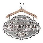 Farmhouse Laundry Room Metal Wall Art