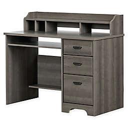 South Shore Versa Desk in Warm Grey