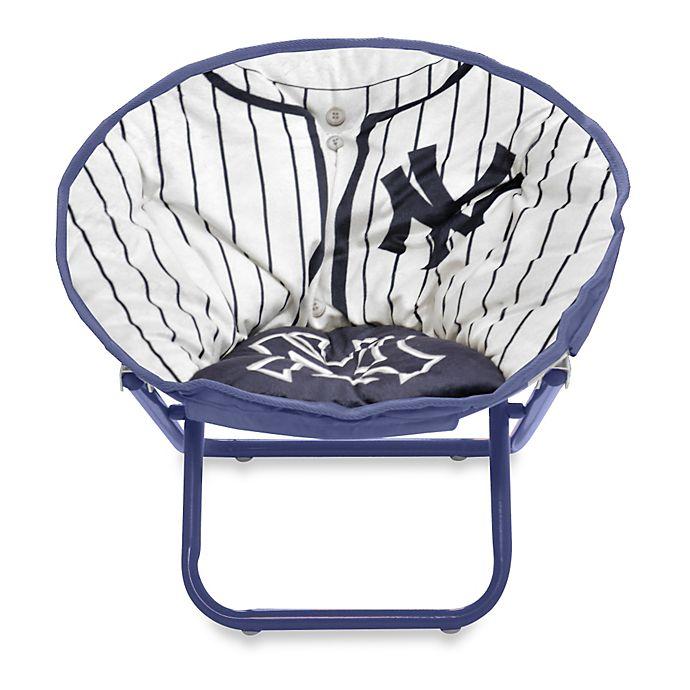 Alternate image 1 for New York Yankees Children's Saucer Chair