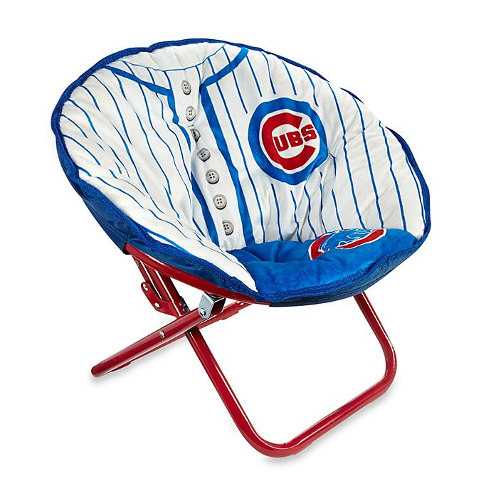 Amazing Chicago Cubs Childrens Saucer Chair Bed Bath Beyond Pabps2019 Chair Design Images Pabps2019Com