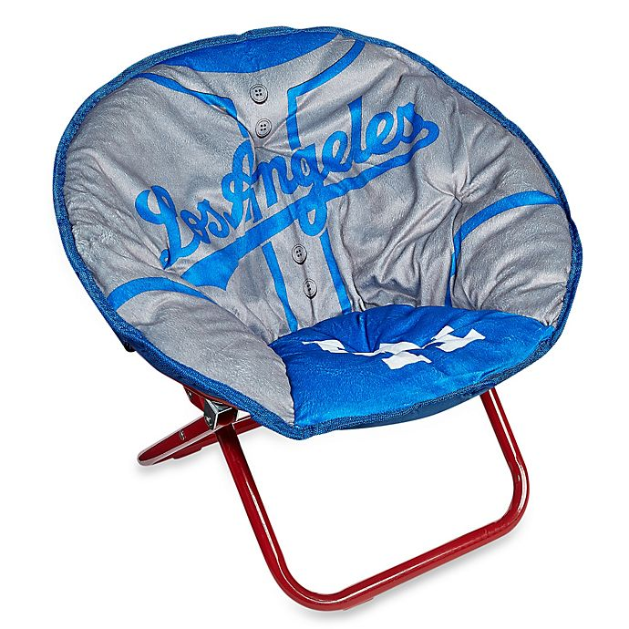 Los Angeles Dodgers Children S Saucer Chair Bed Bath