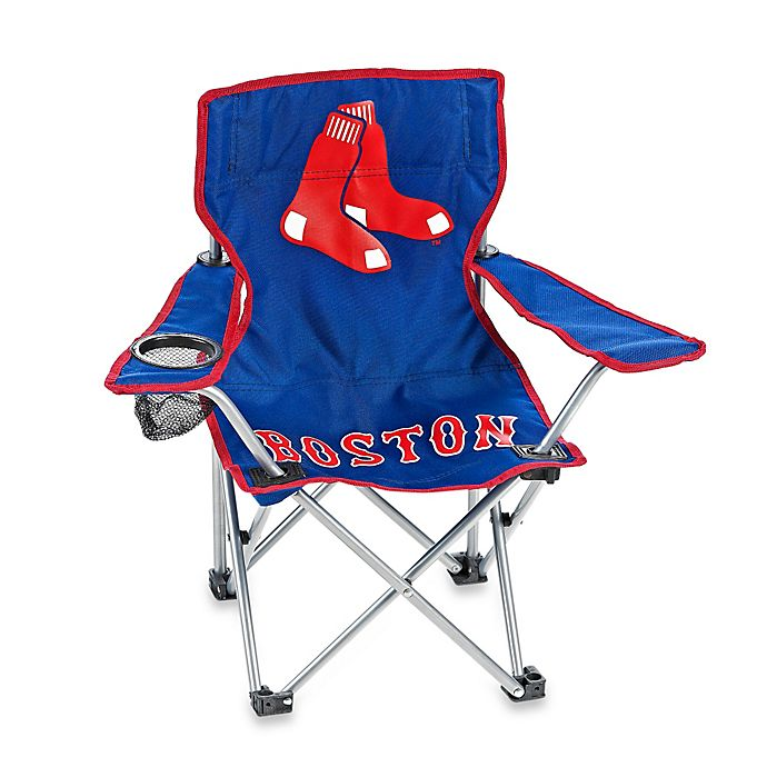Alternate image 1 for Boston Red Sox Children's Camp Chair