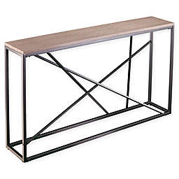 Southern Enterprises© Arendal Faux Stone Skinny Console Table