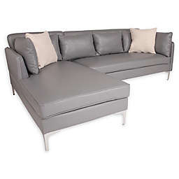 Flash Furniture L-Shaped Sectional Sofa with Chaise