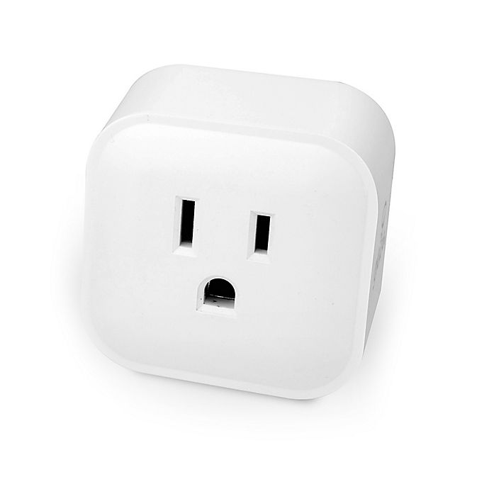 Alternate image 1 for Globe Electric Wi-Fi App Compatible Smart Plug in White
