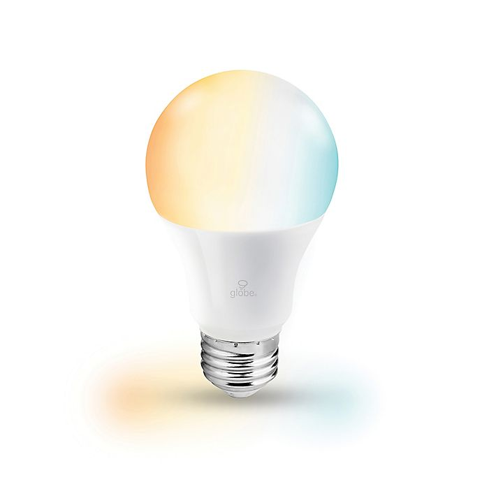Alternate image 1 for Globe Electric Smart Wi-Fi 60-Watt Equivalent A19 Tunable LED Light Bulb in White