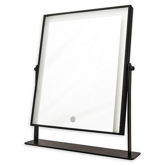 Alternate image 1 for DANIELLE Hollywood 1x LED Vanity Mirror in Black