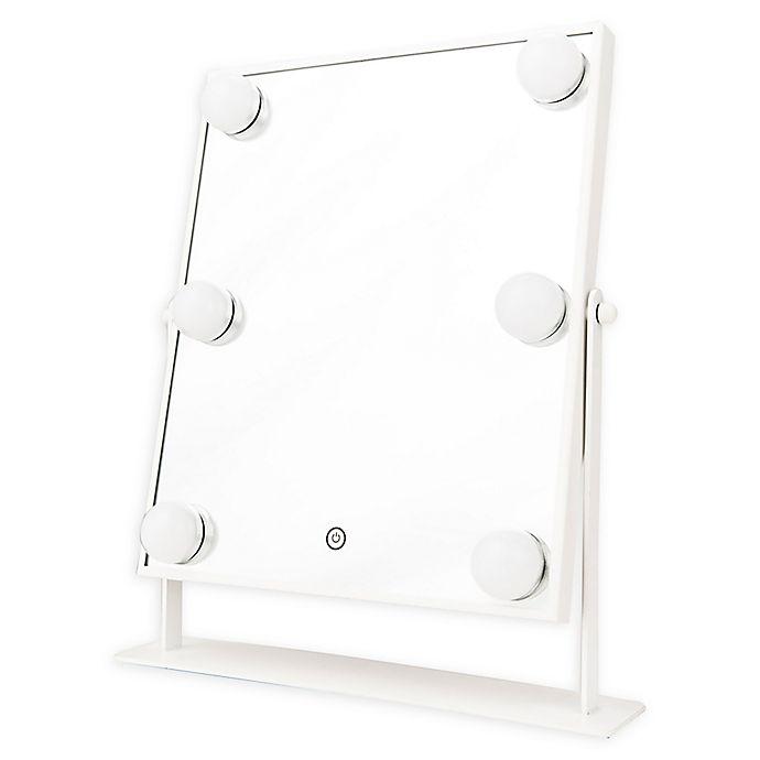 Alternate image 1 for DANIELLE Hollywood 1x 6-Light LED Vanity Mirror