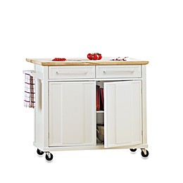 Real Simple® Rolling Kitchen Island