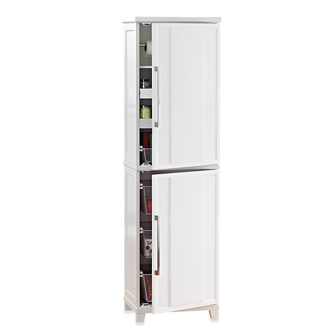 Real Simple® White Kitchen Pantry