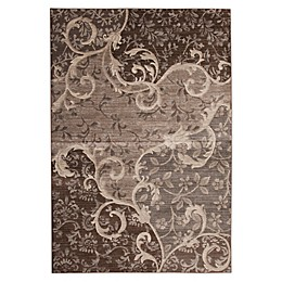 Abacasa Sonoma Chauncy Tufted Area Rug in Grey/Chocolate