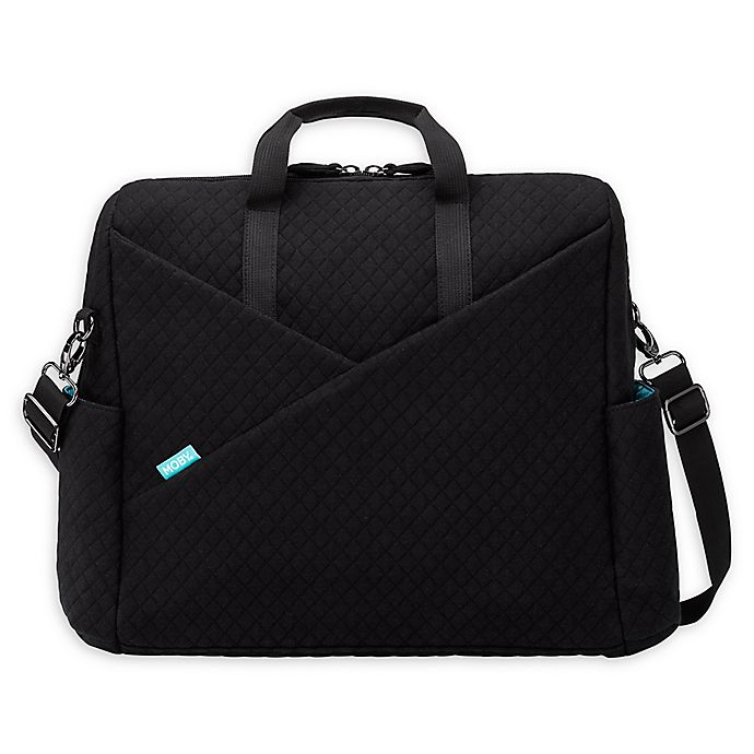 Alternate image 1 for MOBY® Destination Backpack/Messenger Bag in Black