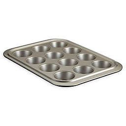 Anolon® Allure™ Nonstick 12-Cup Muffin Pan in Onyx/Pewter