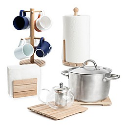Medici Acacia Kitchen Tableware and Counterware Collection