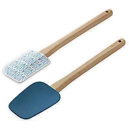 Ayesha Curry™ 2-Piece Spatula & Spoonula Set in Blue/Teal