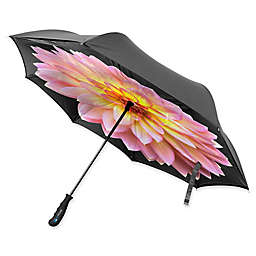 BetterBrella™ Floral Umbrella with Reverse Open/Close Technology