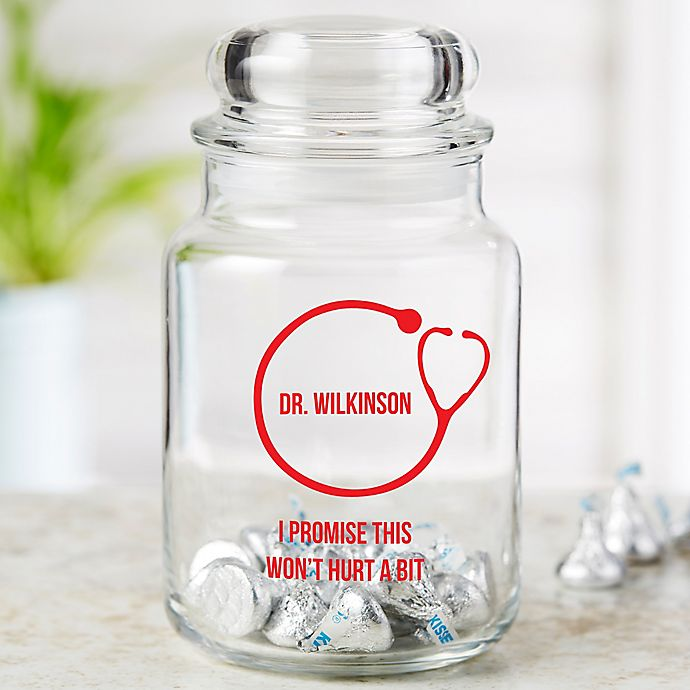 Alternate image 1 for Doctor Icon Personalized Treat Jar