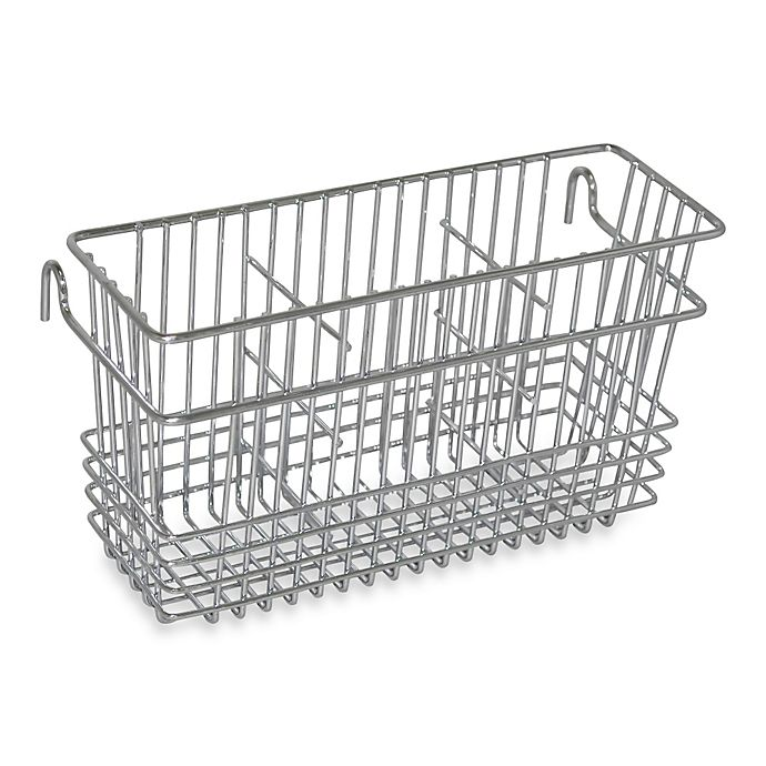 Buy Chrome Steel Cutlery Drying Basket From Bed Bath Amp Beyond