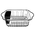 Over-the-Sink 3-In-1 Expandable Dish Rack with Integrated Handles